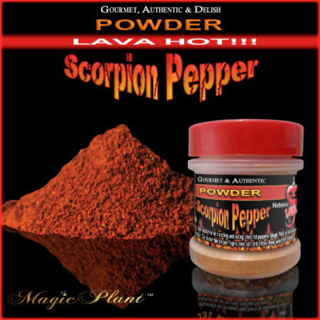 Trinidad Scorpion Pepper Powder - 1/2oz