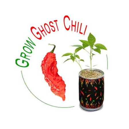 Ghost Chili Growing Kit
