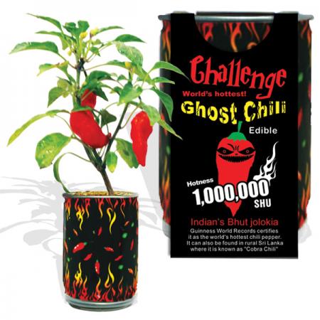 Ghost Pepper Growing Kit