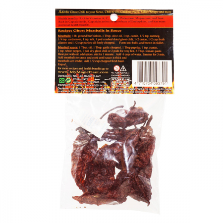 Bhut Jolokia whole pods