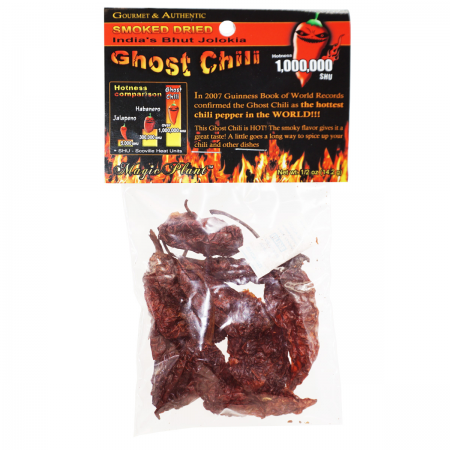 Ghost Pepper Pods