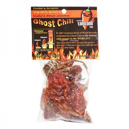Ghost Pepper Pods