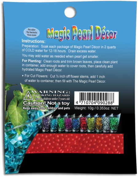 water beads magic pearls decor